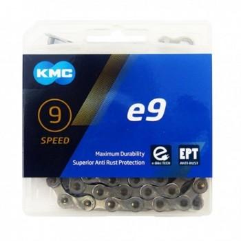 Lant KMC E9 9 viteze argintiu